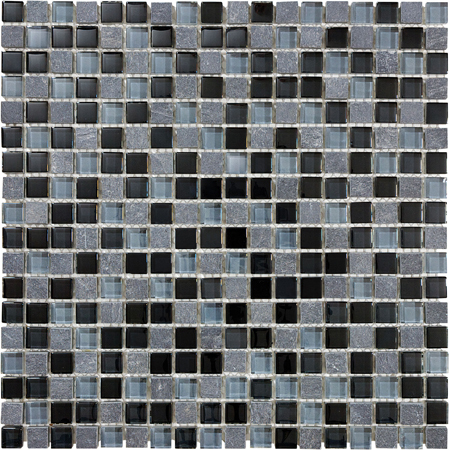 FLT Bliss Mosaic - Black Timber