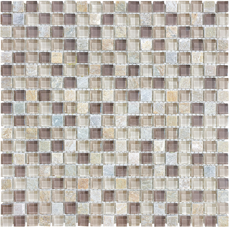 FLT Bliss Mosaic - Cotton Wood